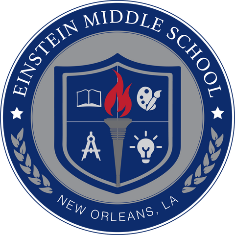 Einstein Middle School Logo - Poree's Embroidery