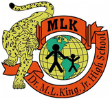 Martin Luther King Jr. Elementary School Embroidered Logo - Poree's Embroidery