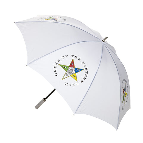 Eastern Star 30'' Jumbo Umbrella - Poree's Embroidery
