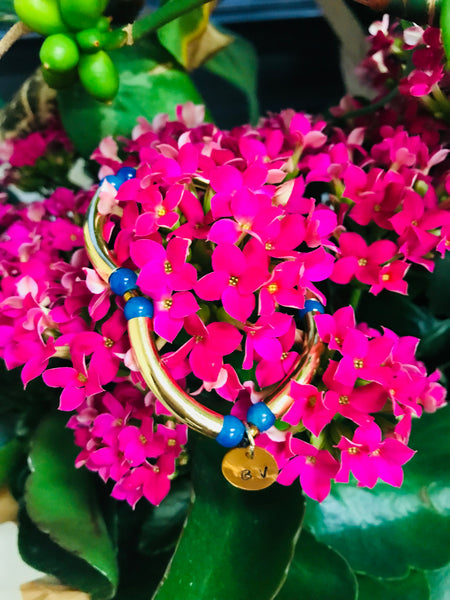 BV's Blue and Gold bracelet