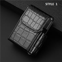 Quality Leather Cigarette Lighter Cigarette Box