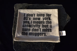The New York Weekend Clutch bag