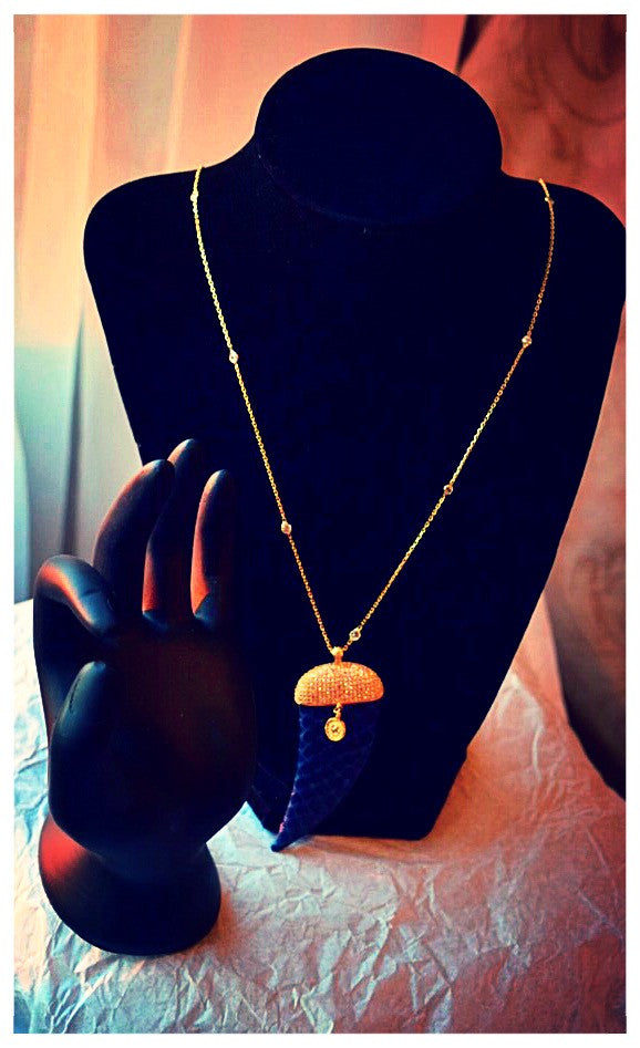 Horn & Envious Necklace