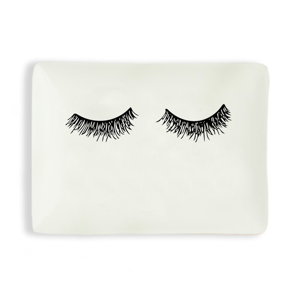 Eye Lash Jewelry Dish