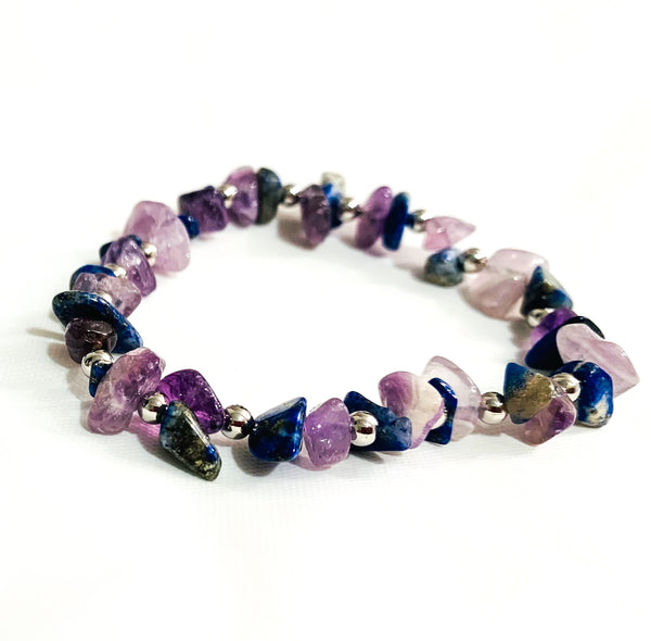 Purple Haze Beaded Bracelet
