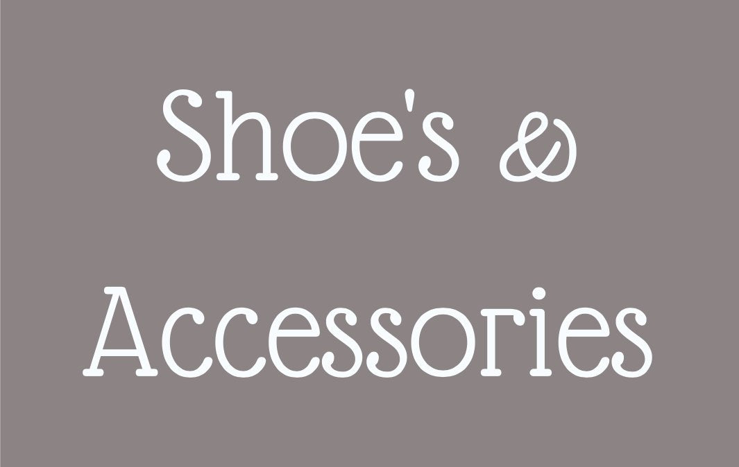 SHOES, HATS & ACCESORIES