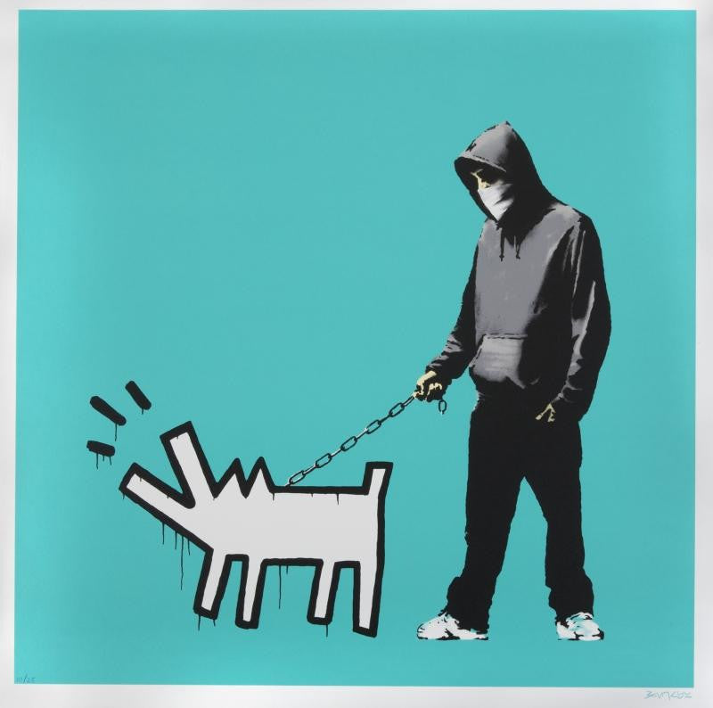 Banksy print for sale at Juliens Auctions
