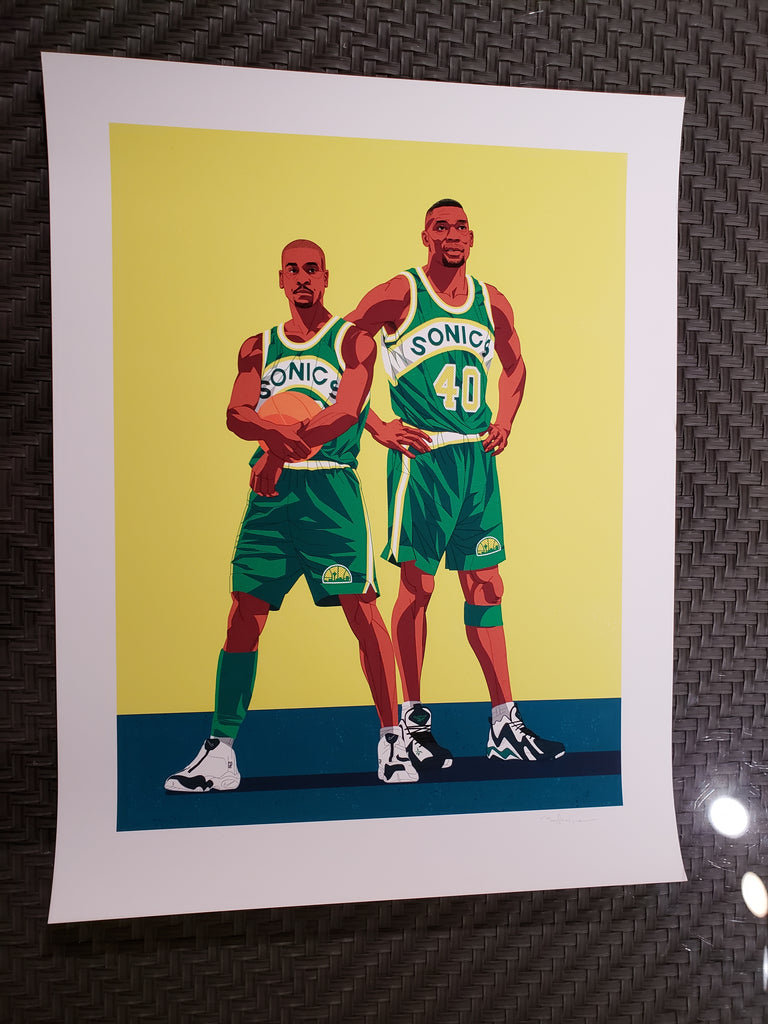 Ryan Simpson - Gary Payton & Shawn Kempt