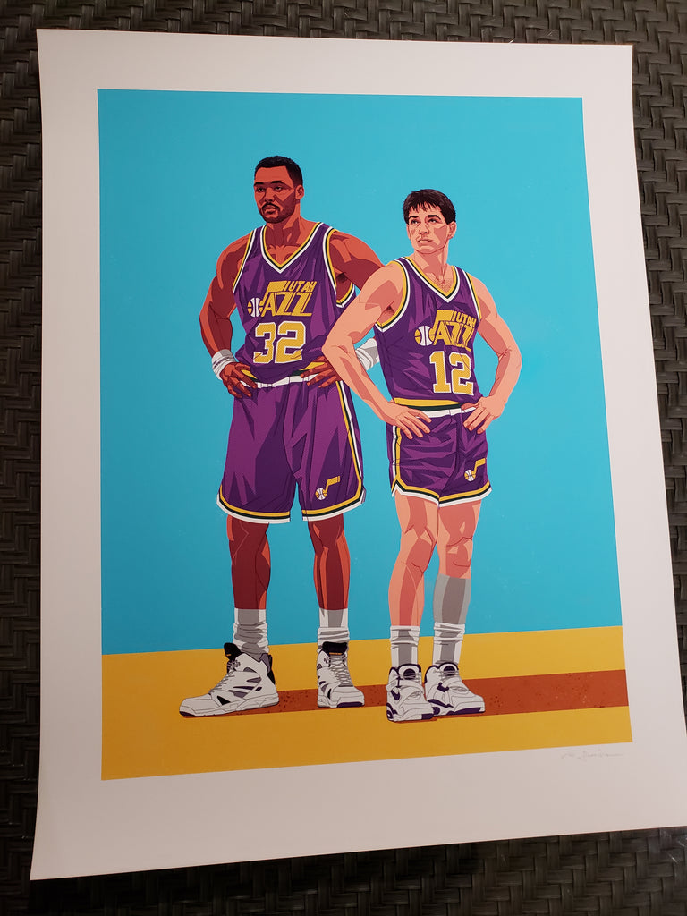 Ryan Simpson - Karl Malone & John Stockton