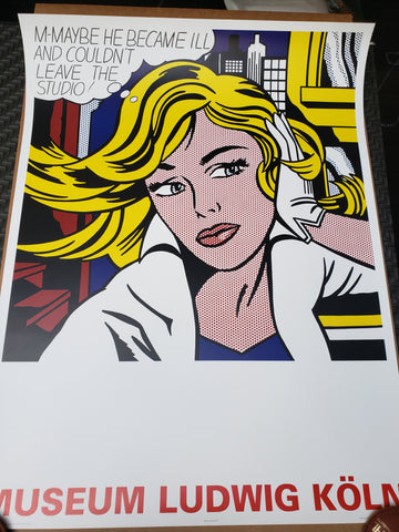 Roy Lichtenstein - Ludwig Koln Museum - 2005 Limited Lithograph