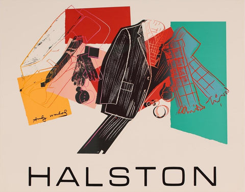 Andy Warhol - Halston Advertising Campaign