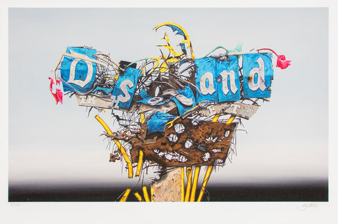 Jeff Gillette- Disney Sign Destructed