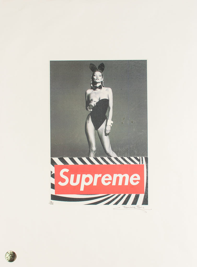 Fairchild Paris x Supreme- Kate Moss Playboy Bunny