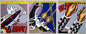 Roy Lichtenstein- As I Open The Fire