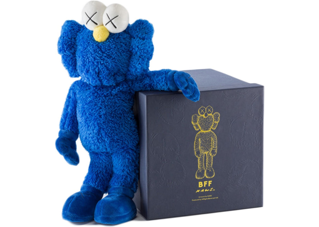 KAWS - BFF Plush - 2016 - Blue - 18""