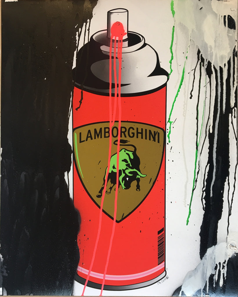 Mr. Clever Art - Lambosol Spray Can