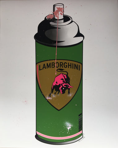 Mr. Clever Art - Lambosol Spray Can Green