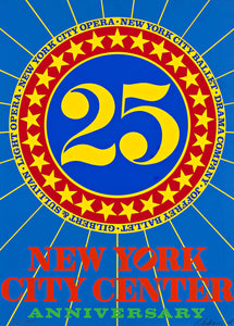 Robert Indiana - New York City Center 25th Anniversary