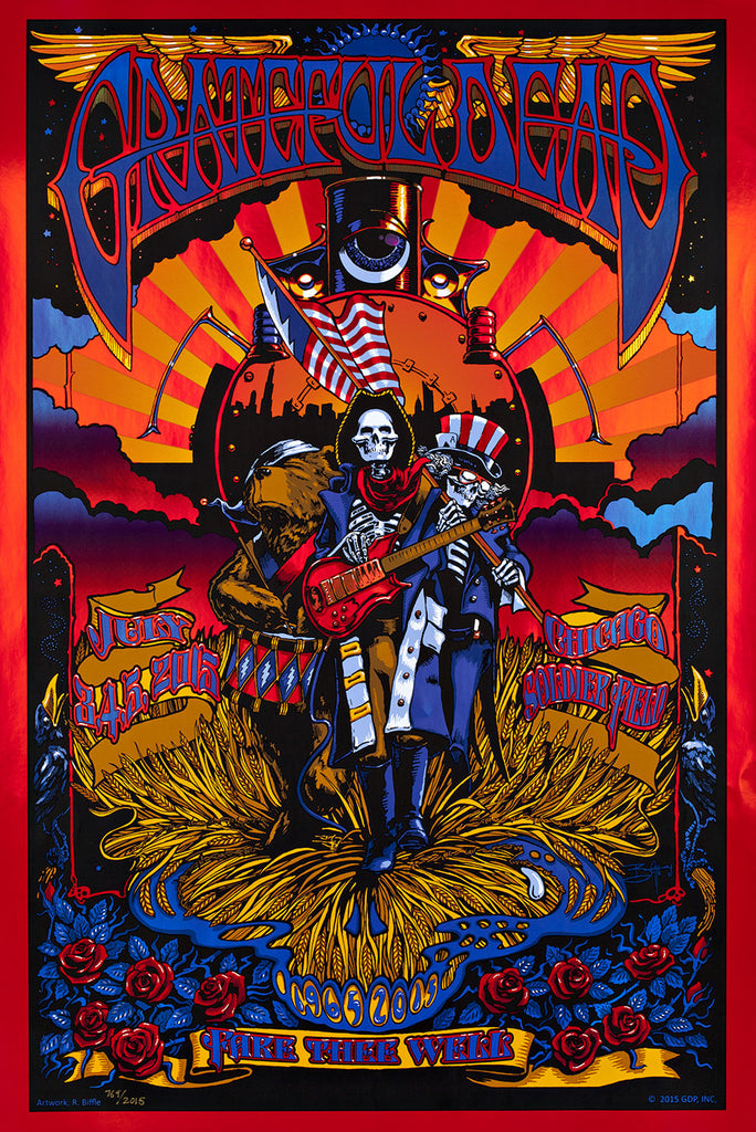 Forbes & Johnson - Grateful Dead Fare Thee Well