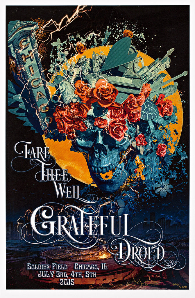 JONES - GRATEFUL DEAD FARE THEE WELL TOUR SOLDIER FIELD