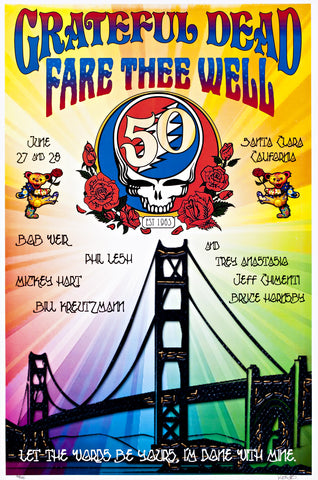 FORBES & JOHNSON - GRATEFUL DEAD FARE THEE WELL SANTA CLARA JUNE 27/28 2015