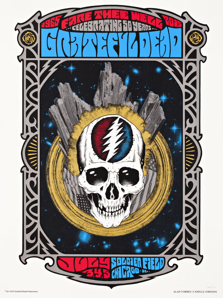 FORBES & JOHNSON - GRATEFUL DEAD AT SOLDIER FIELD ON 7/3, 7/4, AND 7/5
