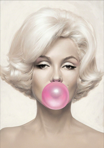 Michael Moebius- Marilyn Bubblegum - Small