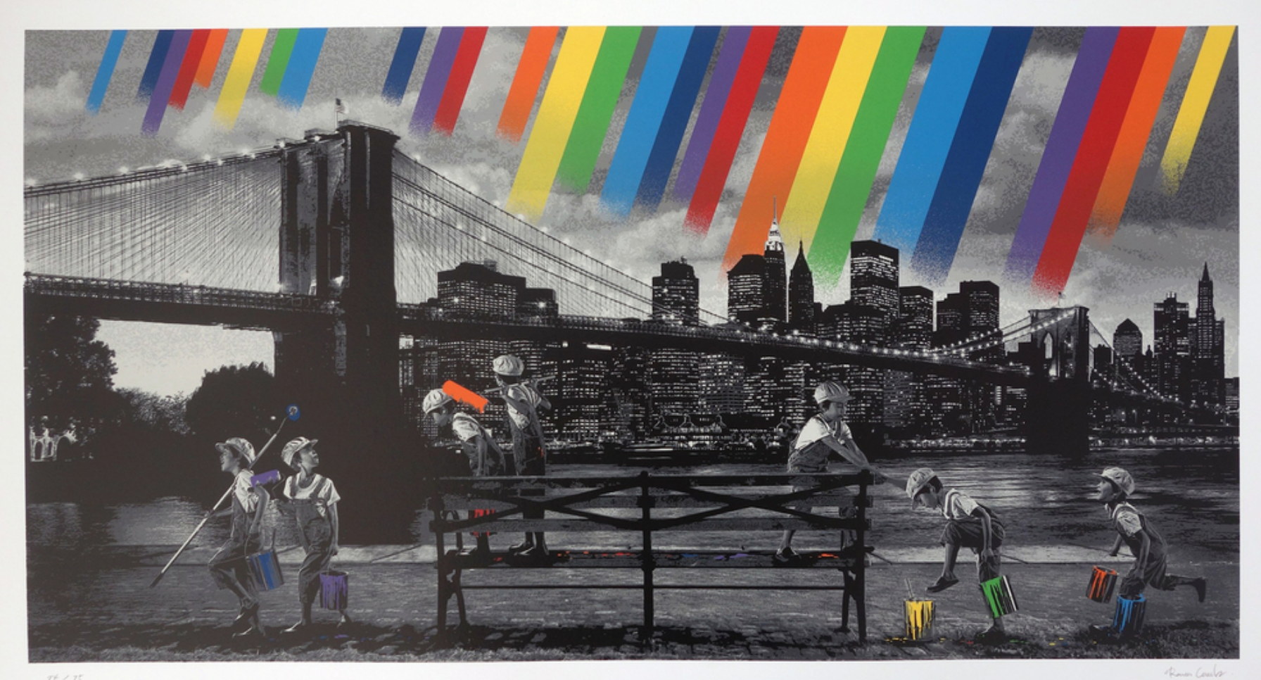 Roamcouch- Rainbow Inc./ Brooklyn Bridge