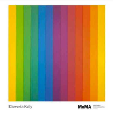 Ellsworth Kelly - MoMA Spectrum IV
