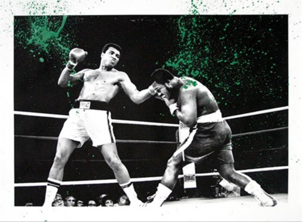 Mr. Brainwash - Grand Ali (Green)