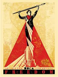 Shepard Fairey - Artists For Freedom