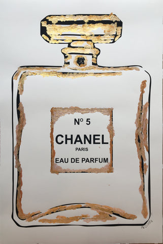 Mr. Clever Art - Chanel Gold