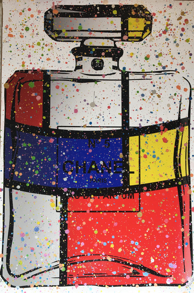 Mr. Clever Art - Mondrian Chanel Mosaic