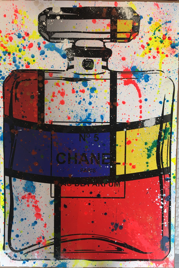 Mr. Clever Art - Chanel Neon