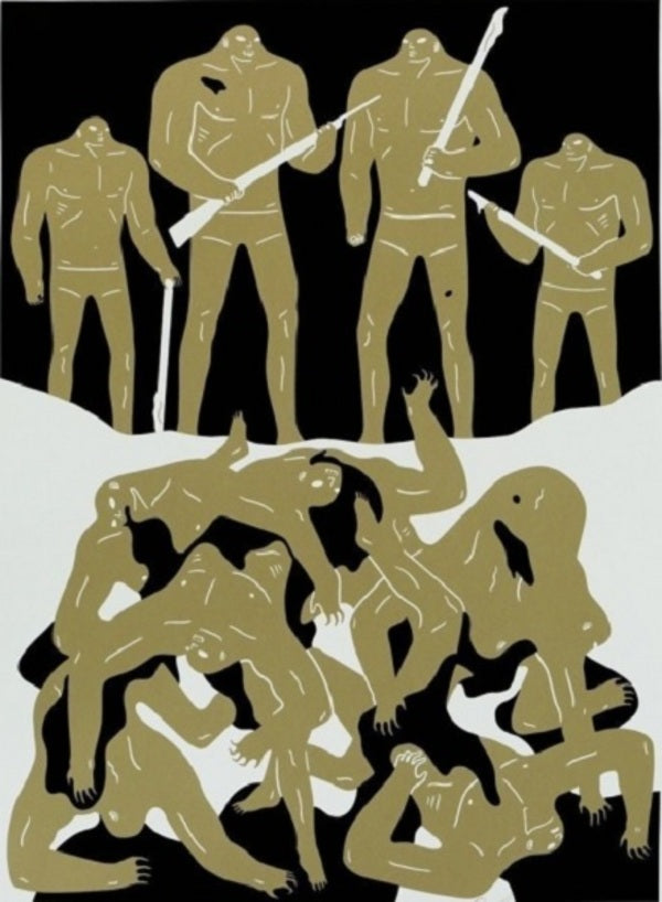 "Cleon Peterson - ""The Genocide"" (2016)"