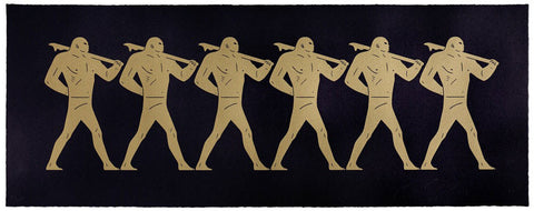 Cleon Peterson - The Marchers (Black)