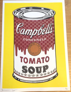 Death NYC - Campbell's Tomato Soup Can