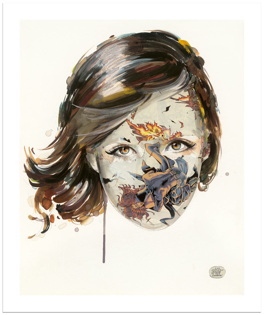 Sandra Chevrier- Immune to Her Charms