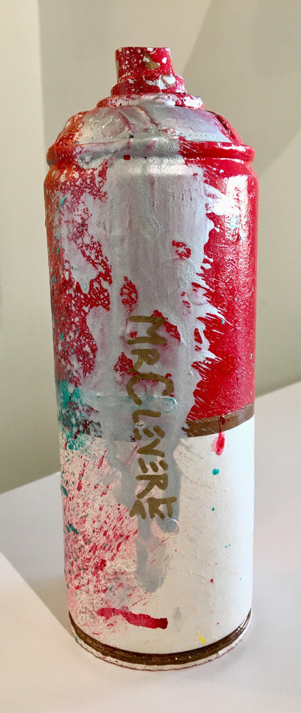 Mr. Clever Art - Extreme Luxury Spray Can (Red)