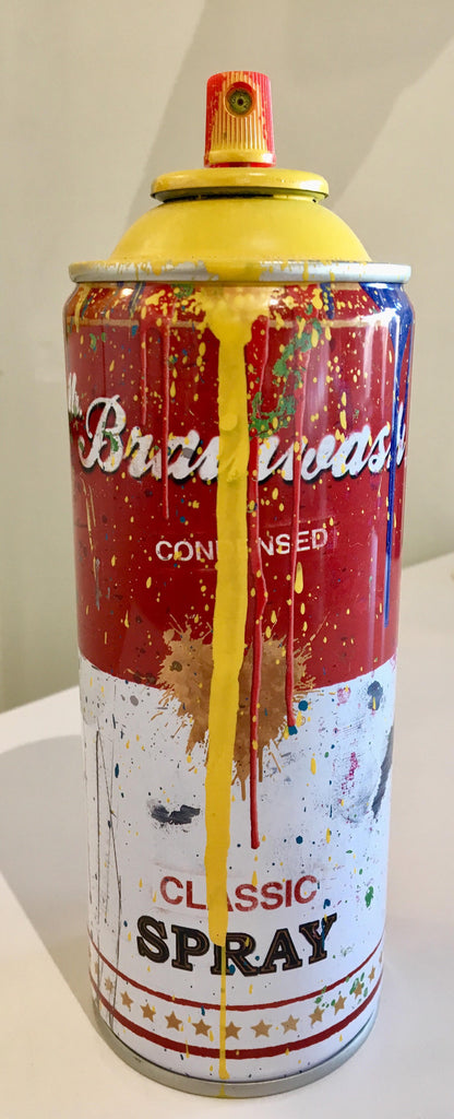 Mr Brainwash - Campbell's Soup Spray Can (Yellow)