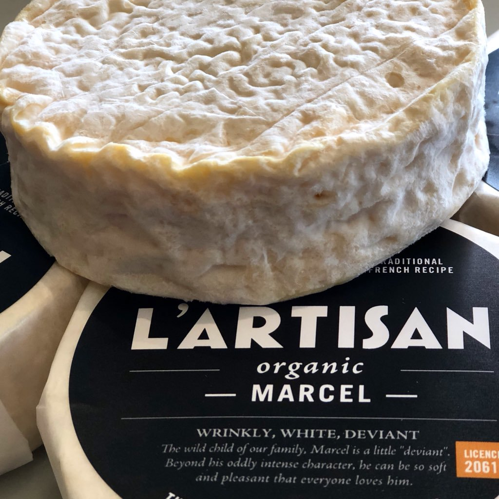 L'Artisan Marcel, A nod to a famous French Cheese