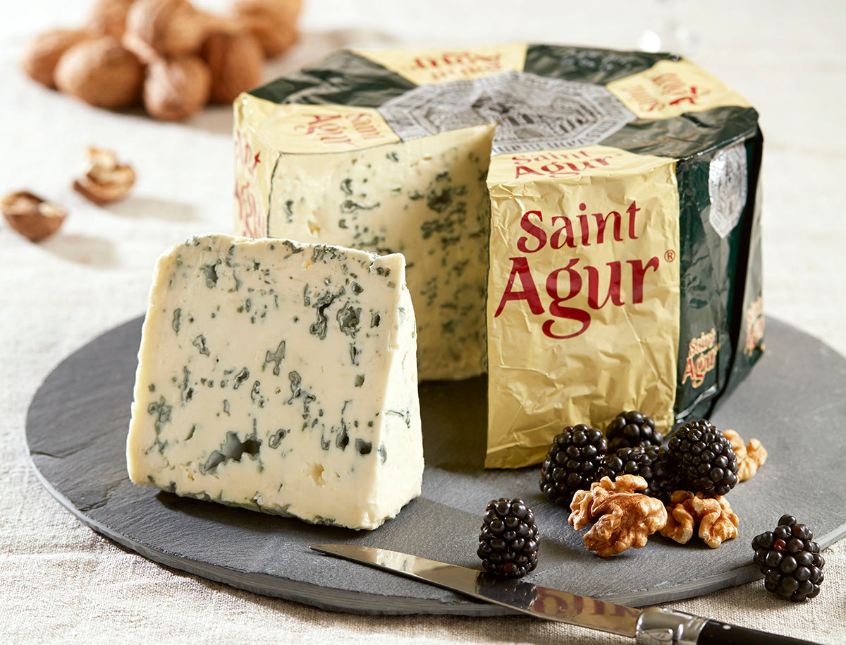 Saint Agur - Double Cream or Blue?
