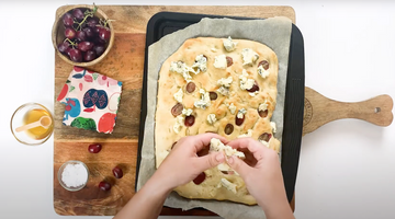 Blue Cheese Focaccia - perfect at any time of the day!