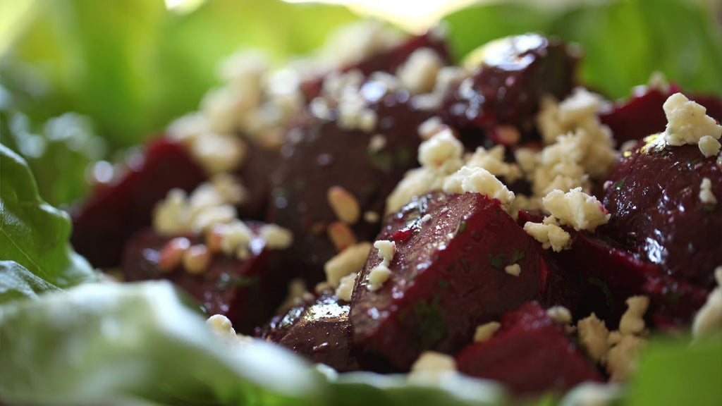Baby Beetroot & Persian Fetta Salad