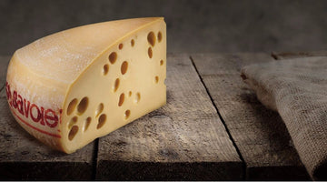 Emmental de savoie - Holy moly that's a wheel of cheese!
