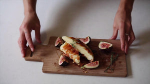 Artemis Kefalotyri Saganaki with Figs & Honey