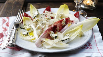 Roquefort salad with pears, chicory and walnut oil  - You have been doing salad wrong.