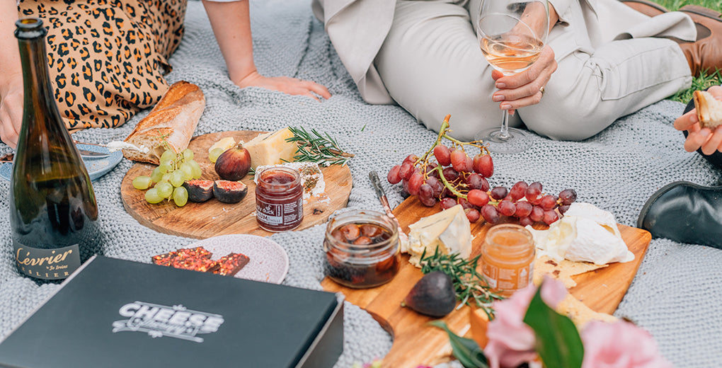 Elevate your cheese subscription with wine image