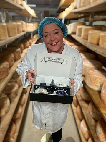 Image of Milawa Cheese's Ceridwen with Cheese Therapy Cheesemaker Box