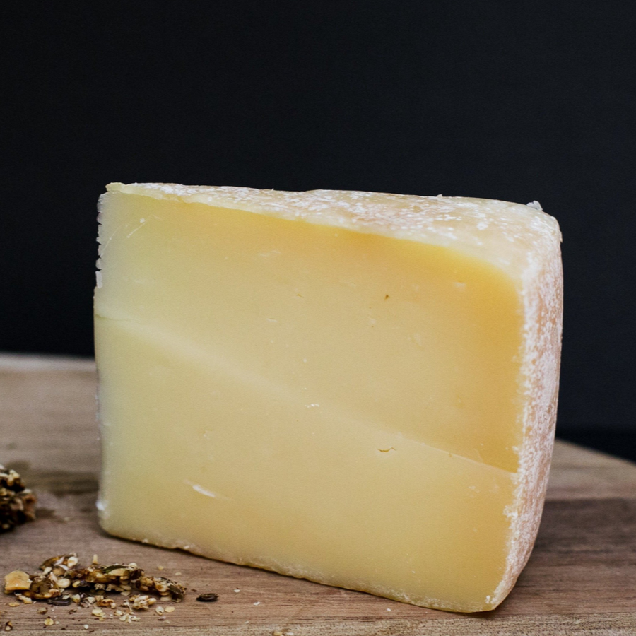 Cheviot, a semi hard cheese made by Prom Country Cheese.